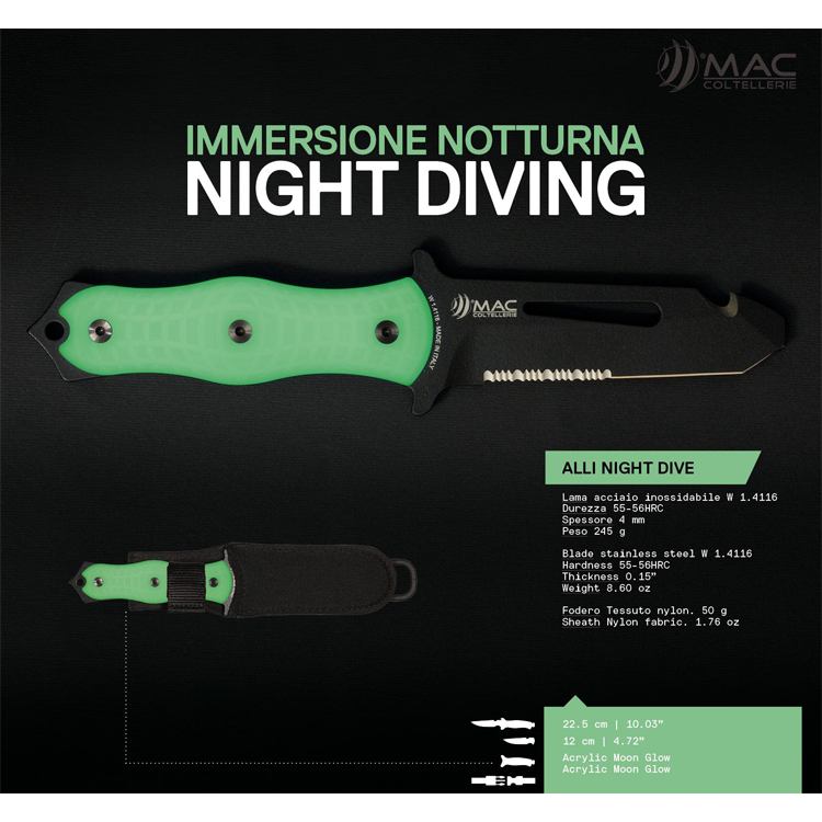 [3891] MAC ALLI Rescue BE Night Dive