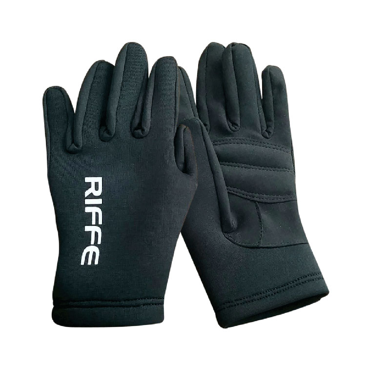 [GL-BKA01] RIFFE Black Amara 2mm Gloves